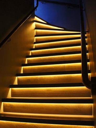 LED strip trapverlichting